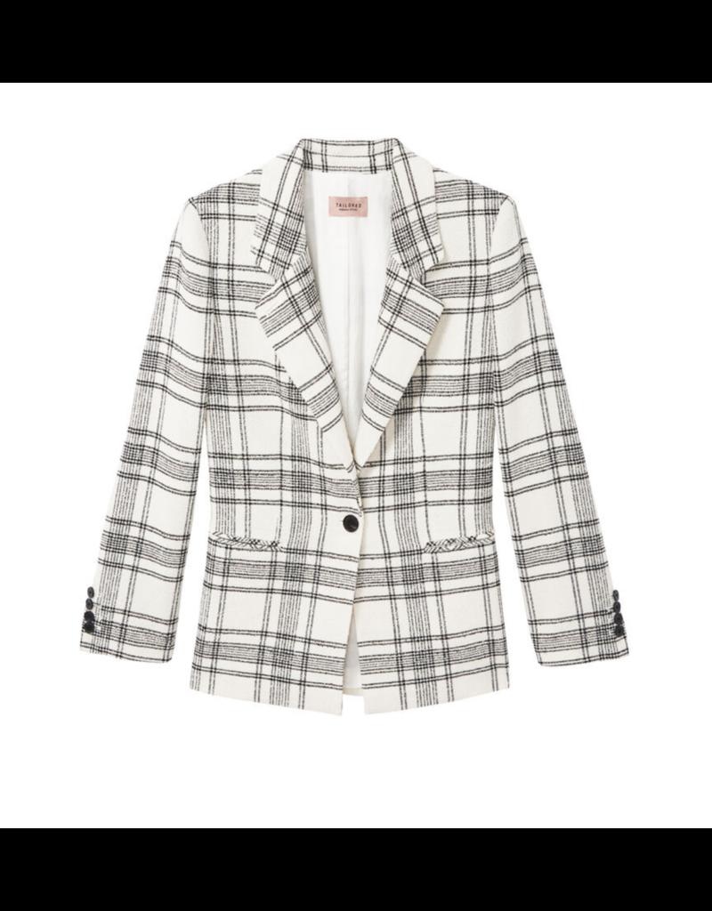 Rebecca Taylor Rebecca Taylor Plaid Tweed Jacket
