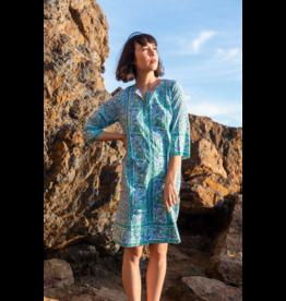SZ Blockprints LONG KURTA DRESS