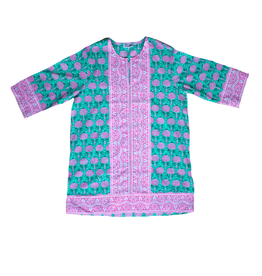 SZ Blockprints SHORT KURTA DRESS