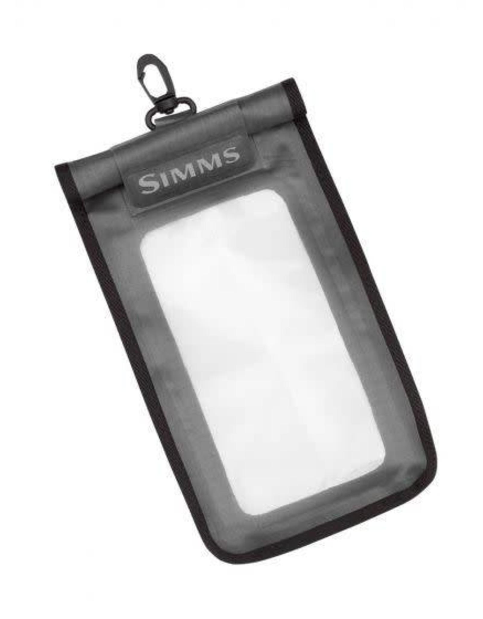 Simms Simms WaterProof Tech Pouch - Gunmental - Large