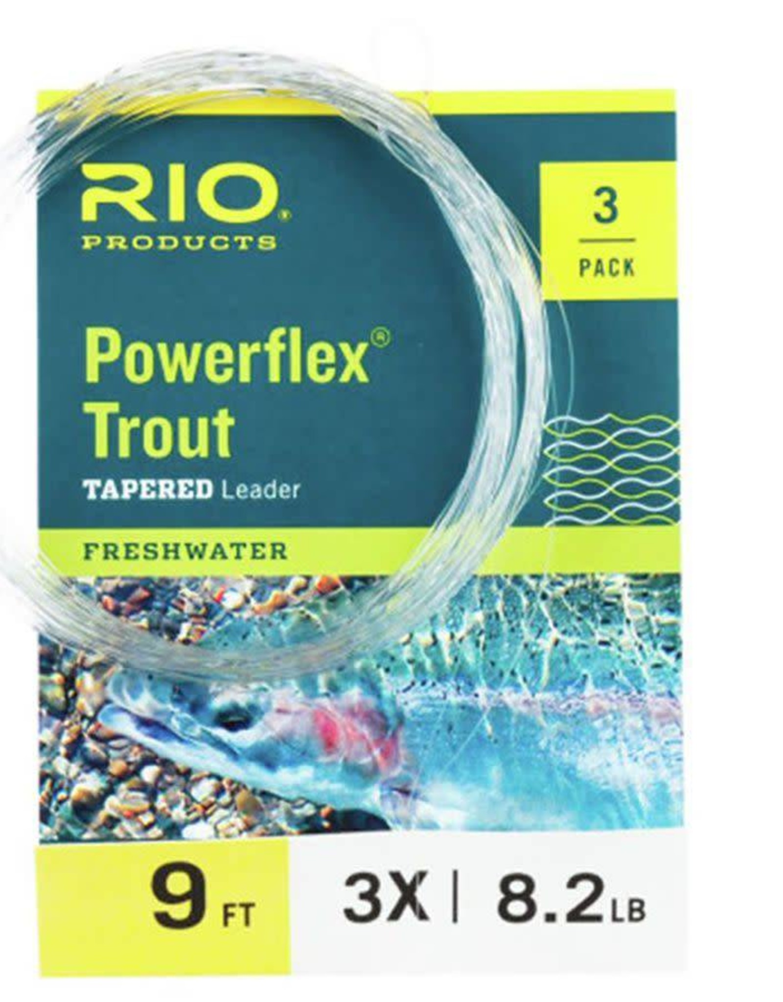 Rio Rio Powerflex Leader - 3 Pack