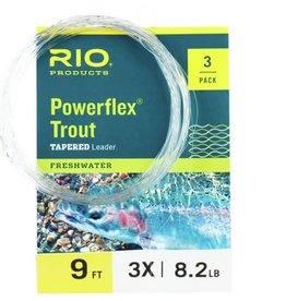 Rio Rio Powerflex Leader - 3 Pack