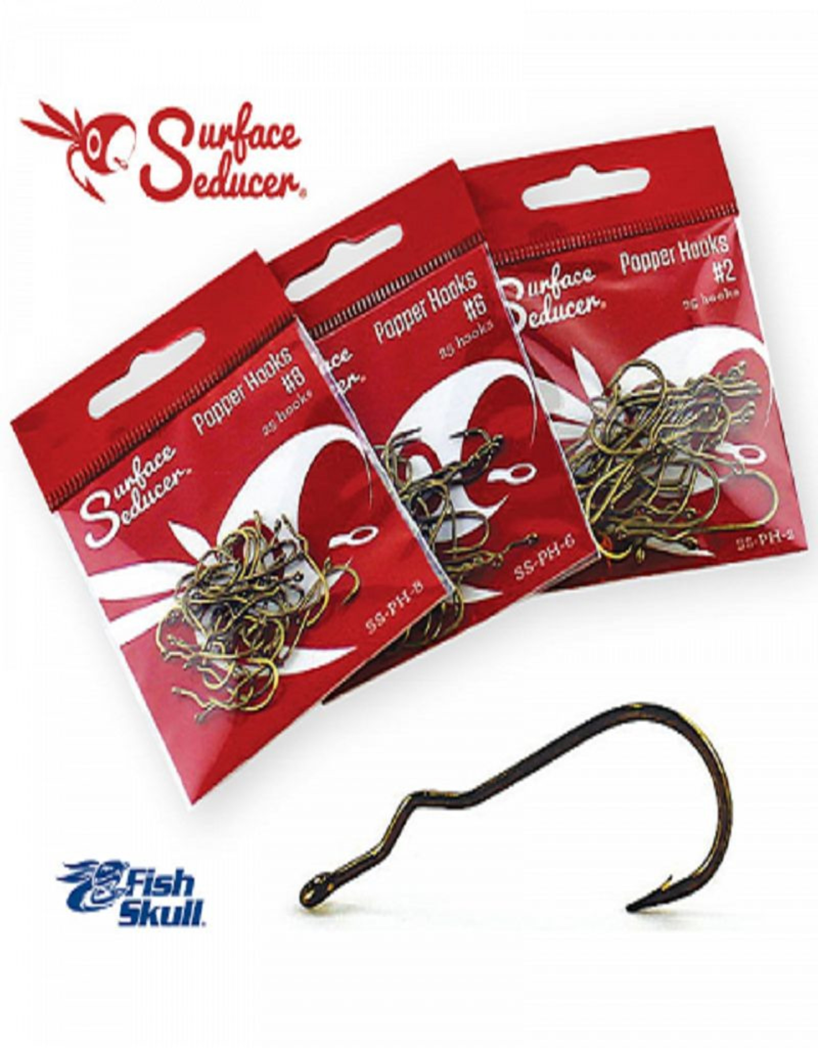 Flymen Fishing Co Flymen Fishing Company Surface Seducer Popper Hooks