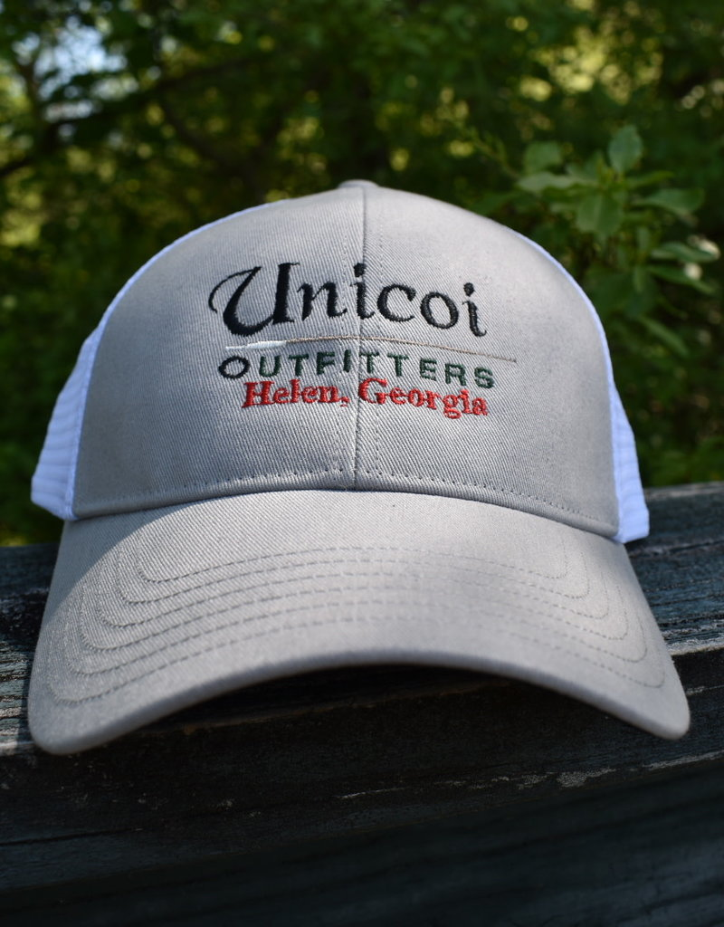 Unicoi Outfitters Simms Unicoi Outfitters Logo Trucker Cap