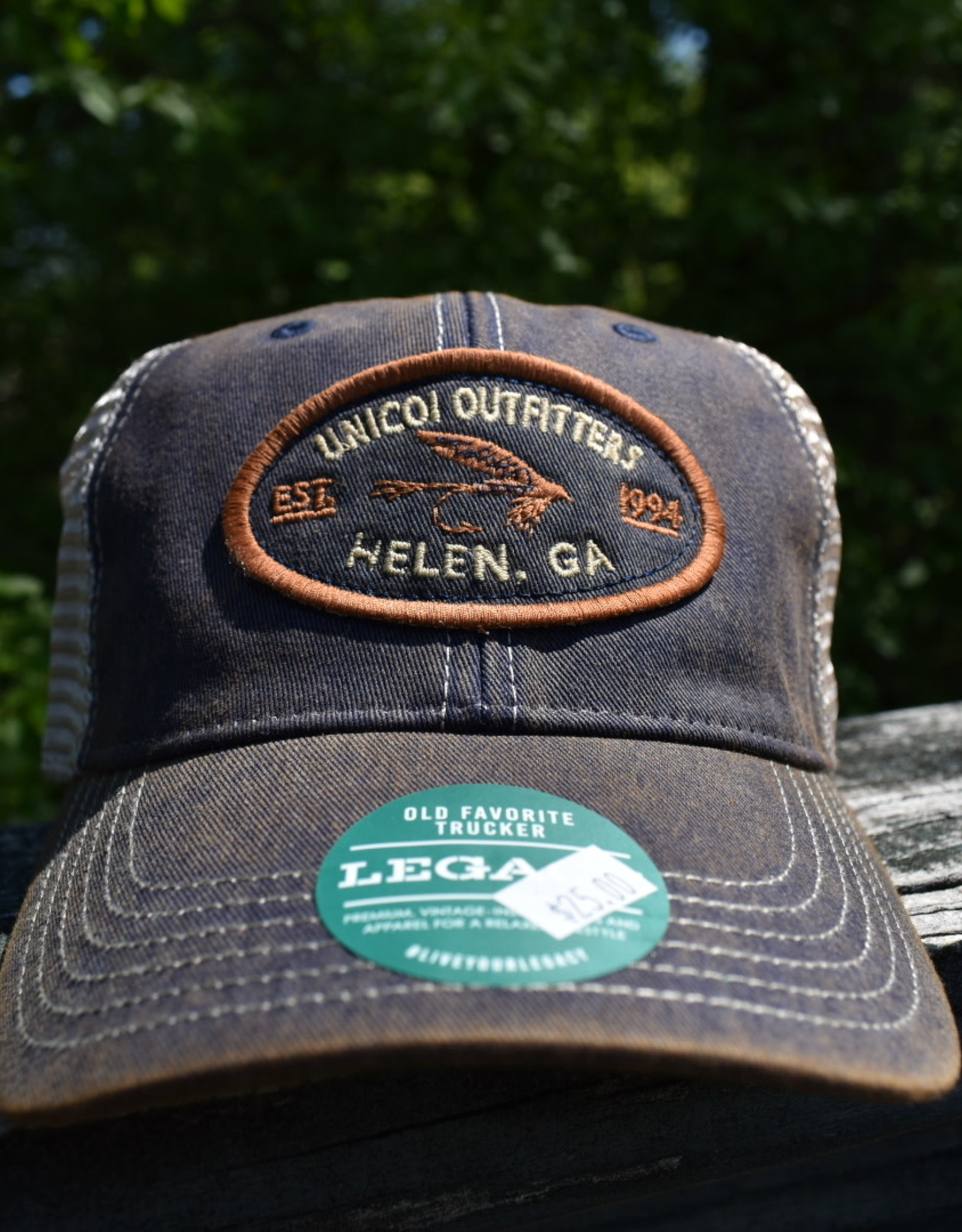 Unicoi Outfitters Legacy Headwear Unicoi Outfitters Logo Trucker Cap