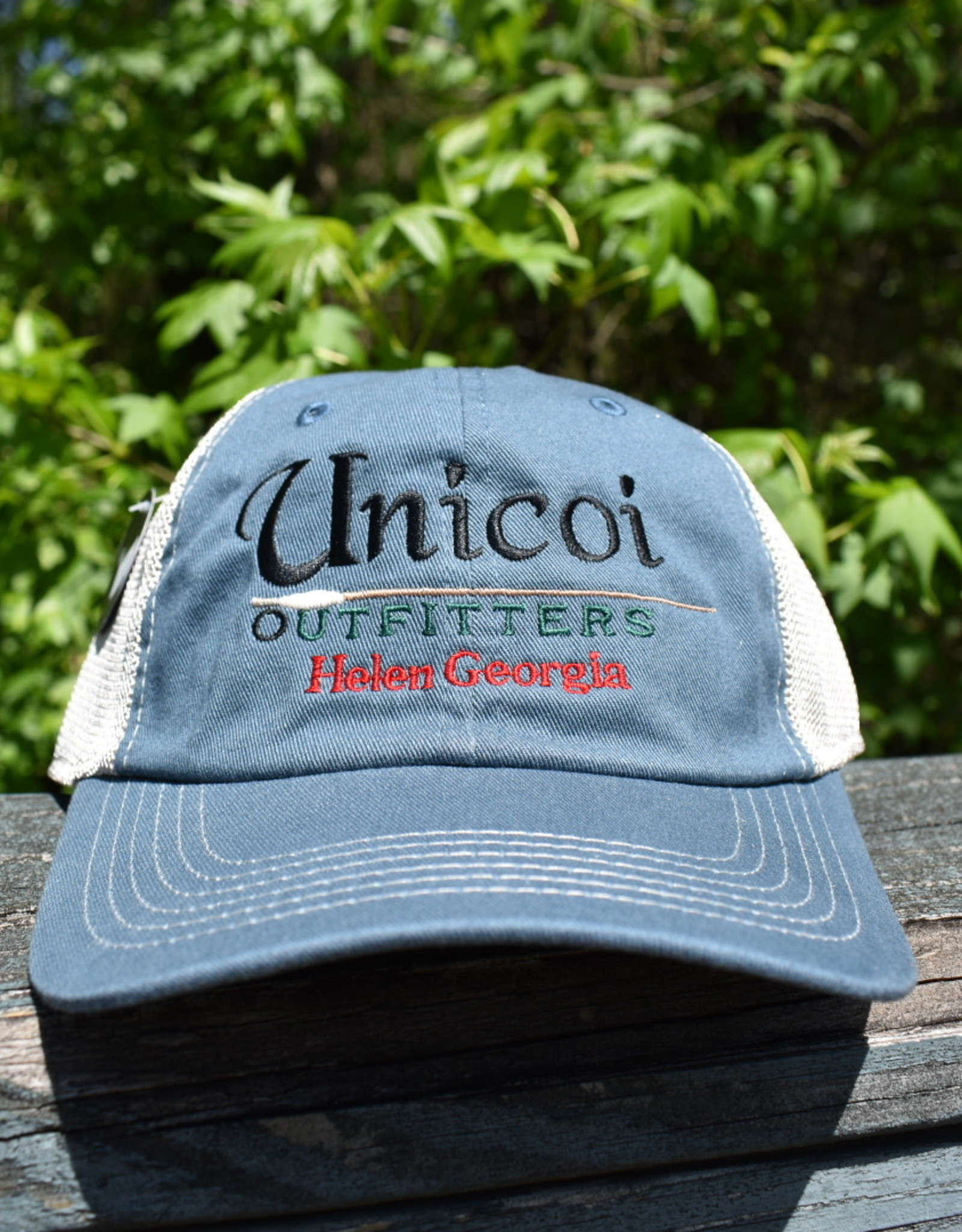 Unicoi Outfitters Imperial Headwear Unicoi Outfitters Logo Trucker Cap