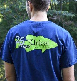 Unicoi Outfitters Unicoi 25 Year Logo Tee