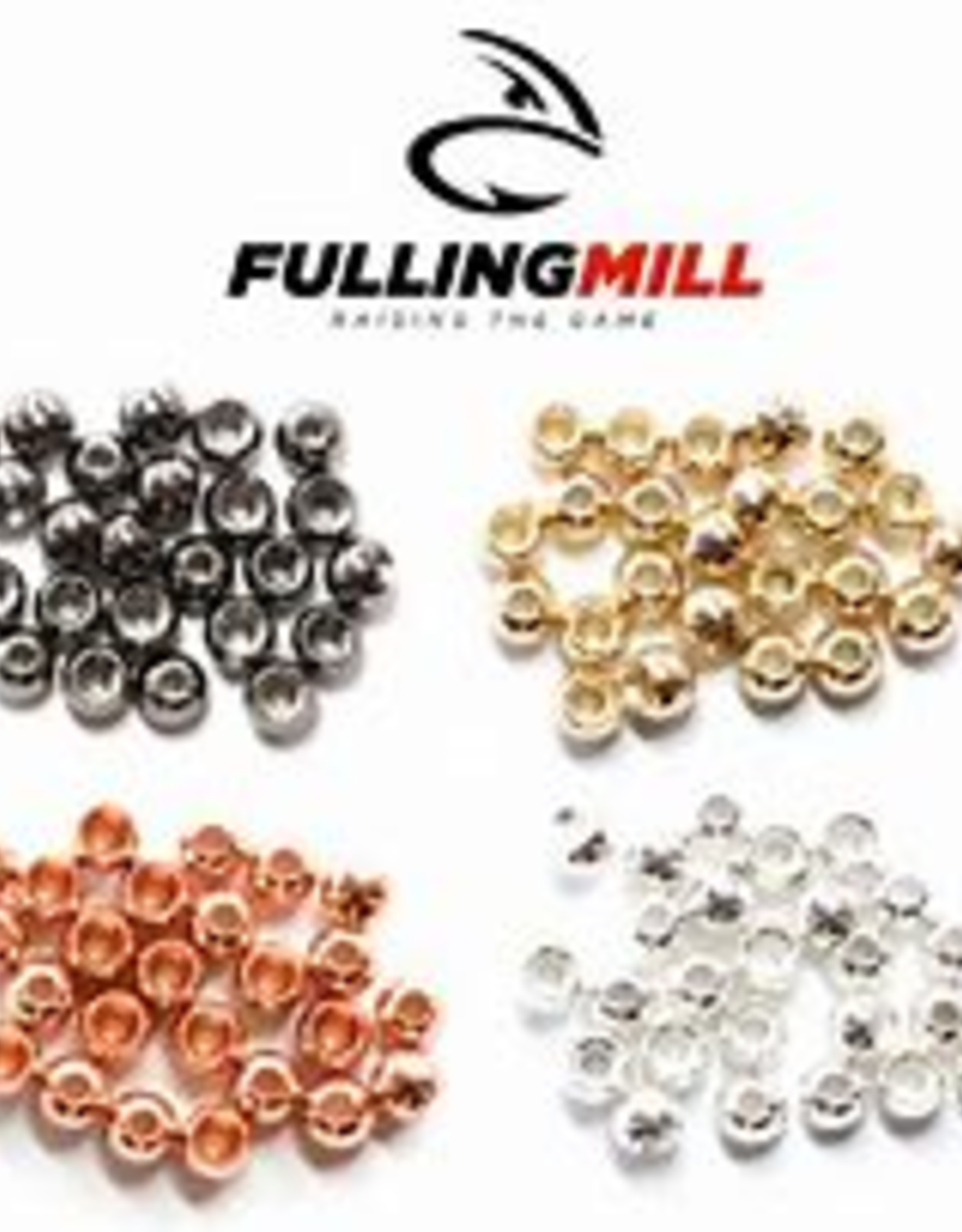 Fulling Mill Fulling Mill Tungsten Beads - 25 Pack