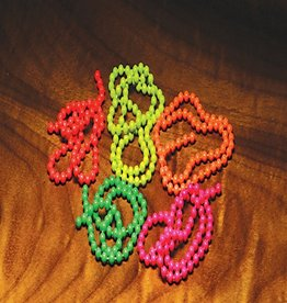Flourescent Bead Chain - Fl Orange