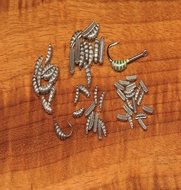 Hareline Dubbing Ribbed Tungsten Scud/Shrimp Bodies