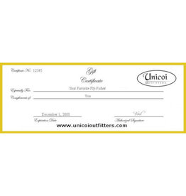 Unicoi Outfitters Gift Certificate - Shoal Bass Float Trip