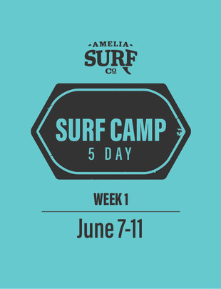 5 Day Camp: (Week 1)  June 7-11, 2021