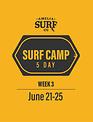 5 Day Camp: (Week 3) June 21-25, 2021