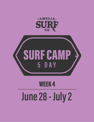 5 Day Camp: (Week 4) June 28-July 2, 2021