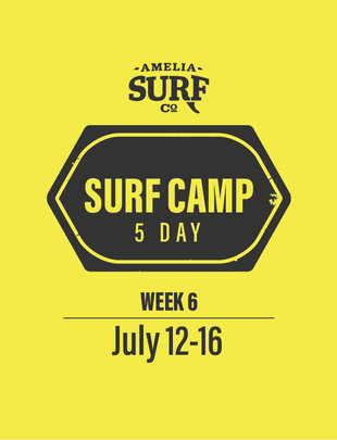 5 Day Camp: (Week 6) July 12-16, 2021