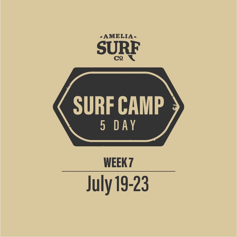 5 Day Camp: (Week 7) July 19-23, 2021