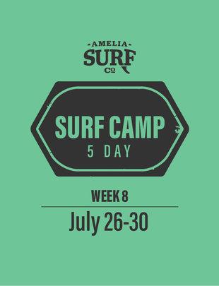 5 Day Camp: (Week 8) July 26-30, 2021