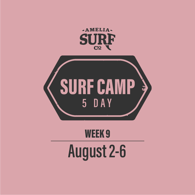 5 Day Camp: (Week 9) August 2-6, 2021