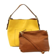 Joy Susan Classic Hobo Handbag- Pinapple