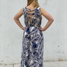 Molly Bracken Tropical Printed Maxi Dress