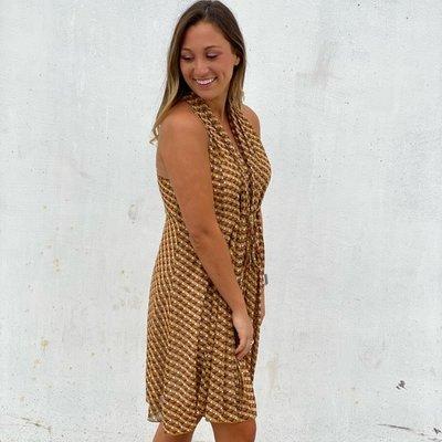 Molly Bracken Sleeveless Art Deco Dress