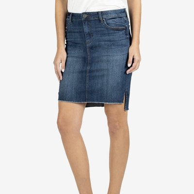 Kut from the Kloth Connie Hi Low Skirt