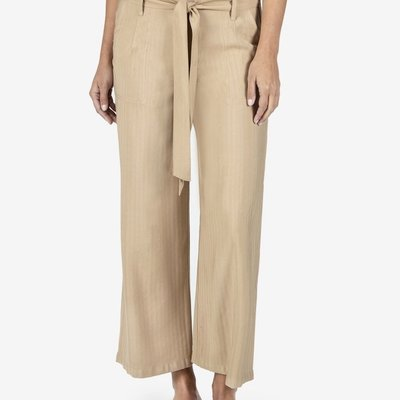 Kut from the Kloth Rhianna Khaki Wide Leg Pant