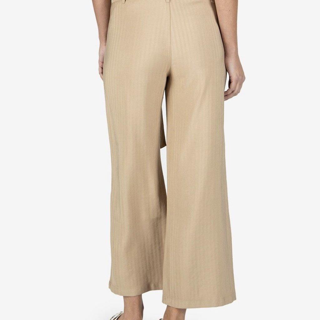Kut from the Kloth Rhianna Khaki  Wide Leg Pant
