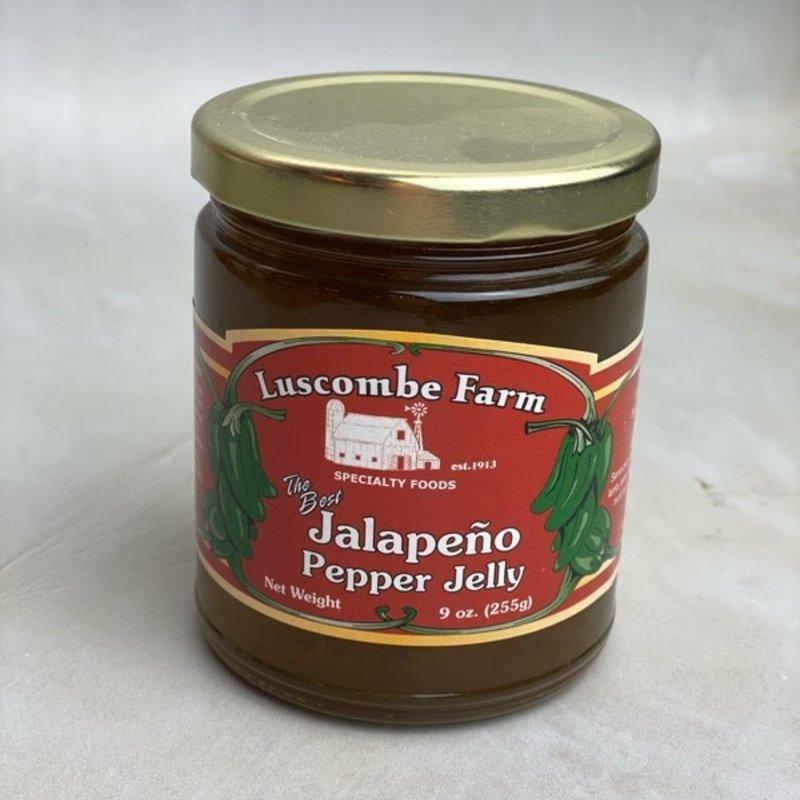 Luscombe Farm Jalapeno Pepper Jelly