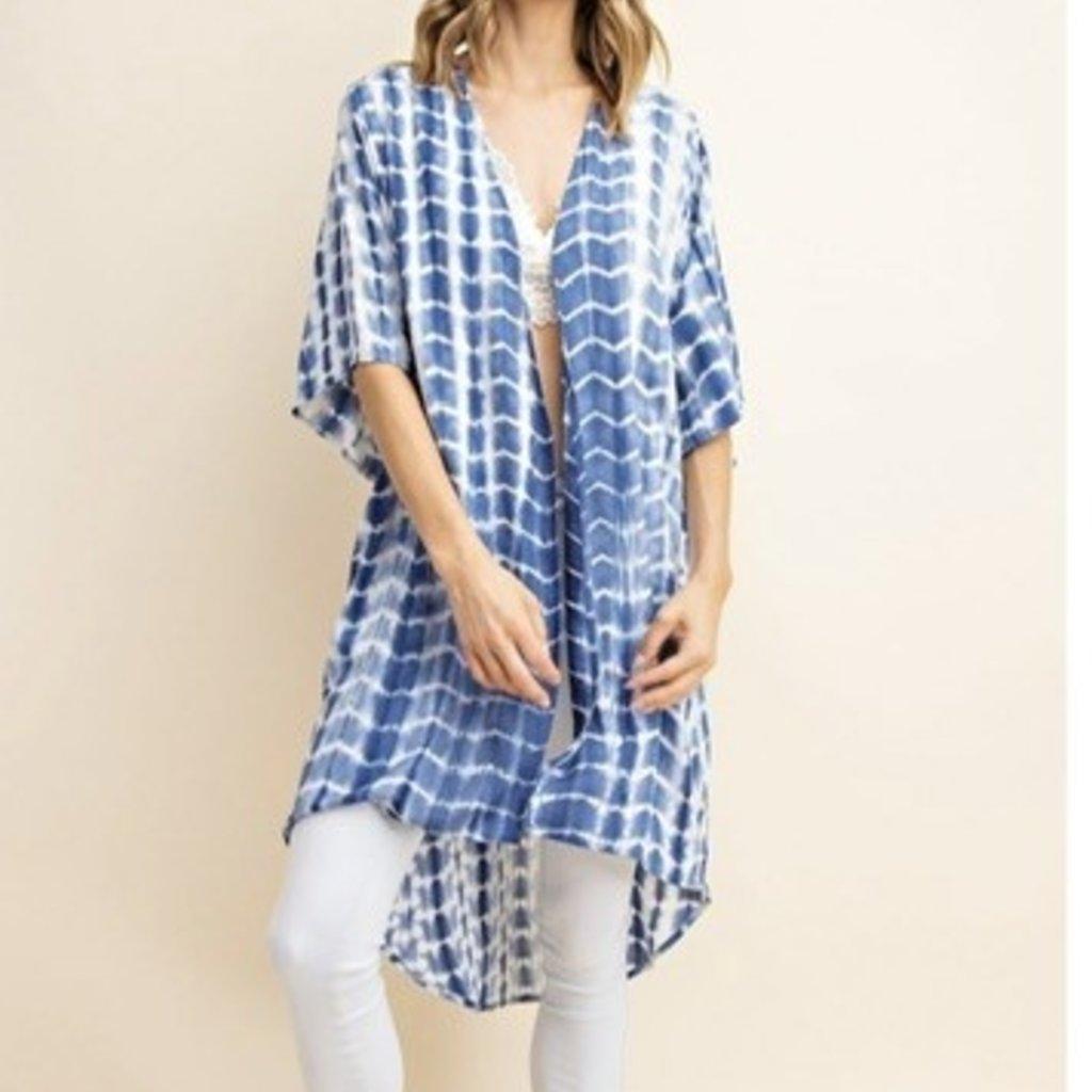 Mittoshop Challis Tie Dye Kimono Cardigan