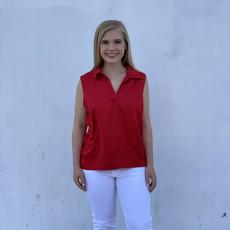 Molly Bracken Sleeveless  Red Top