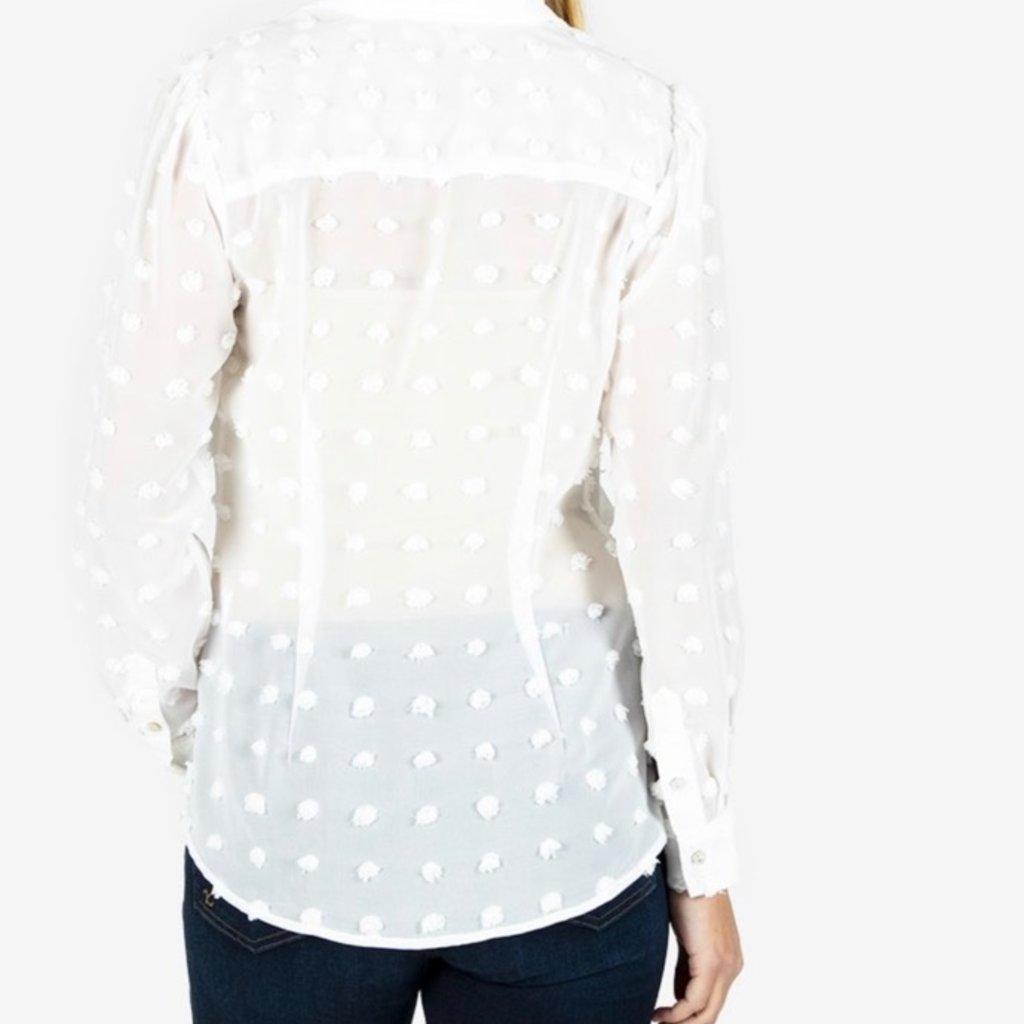 Kut from the Kloth Billa Button Down Shirt