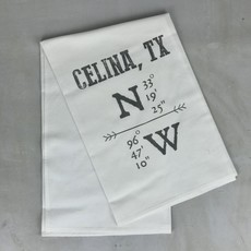 Hometown Tea Towel