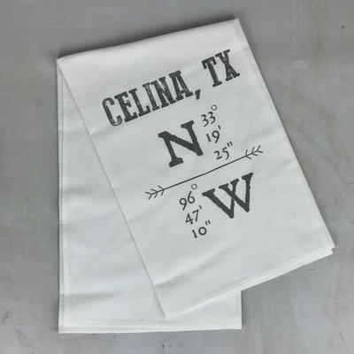 Hometown Tea Towel Celina