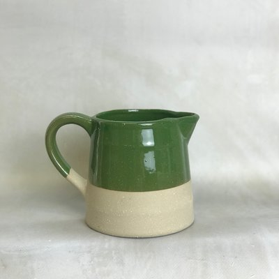 Creative Co-Op Green Matte Pitcher