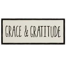 "Creative Co-Op Wall Decor ""Grace and Gratitude"""