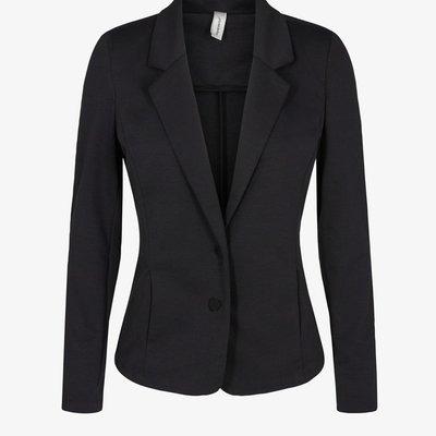 Sonya Concept Solid Blazer Black