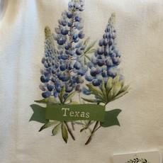 Southern Sisters Entersprises Flower Sack Towel-Bluebonnets