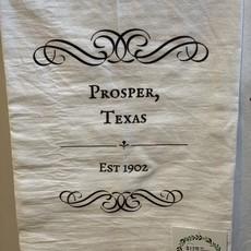 Southern Sisters Entersprises Est. Prosper TX Tea Towel