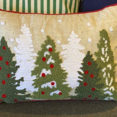 The Royal Standard Christmas Tree Pillow