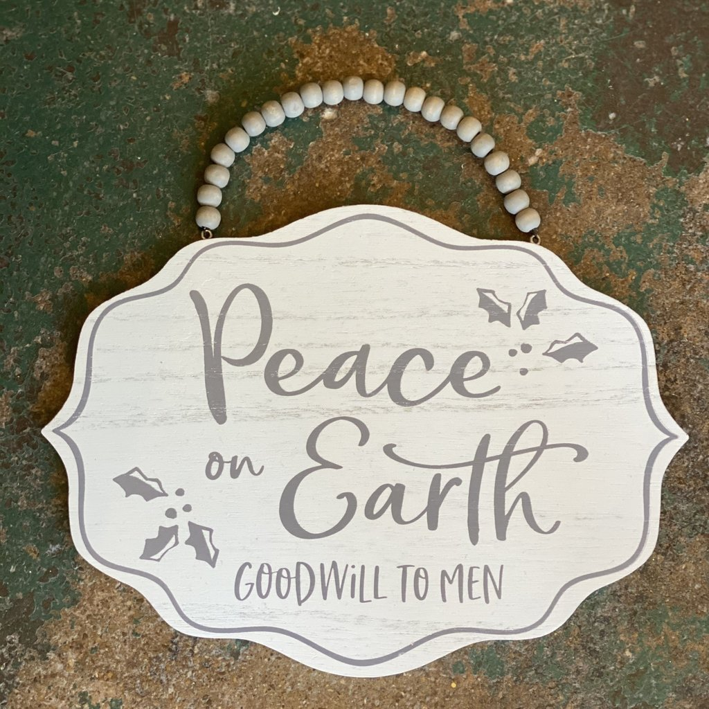 Burton + Burton Peace on Earth Lg ornament