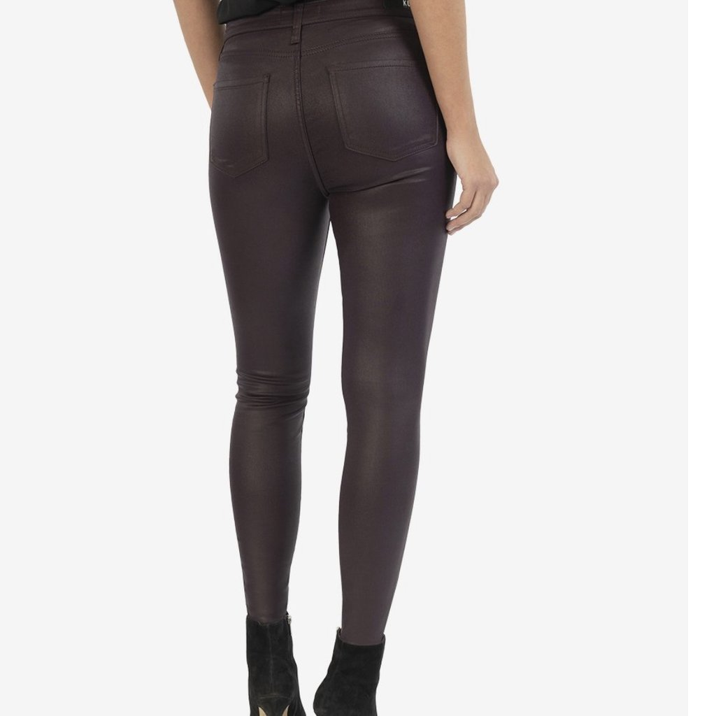 Kut from the Kloth Connie High Rise Ankle Skinny Acai