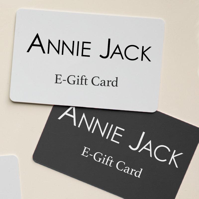 ANNIE JACK E-GiftCard