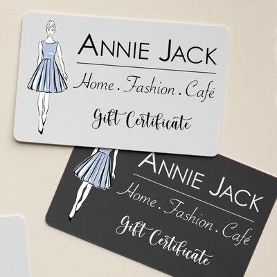 ANNIE JACK DESIGN In Store Gift Certificate