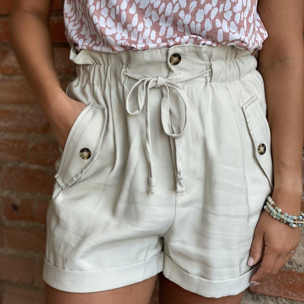Mittoshop Khaki Shorts