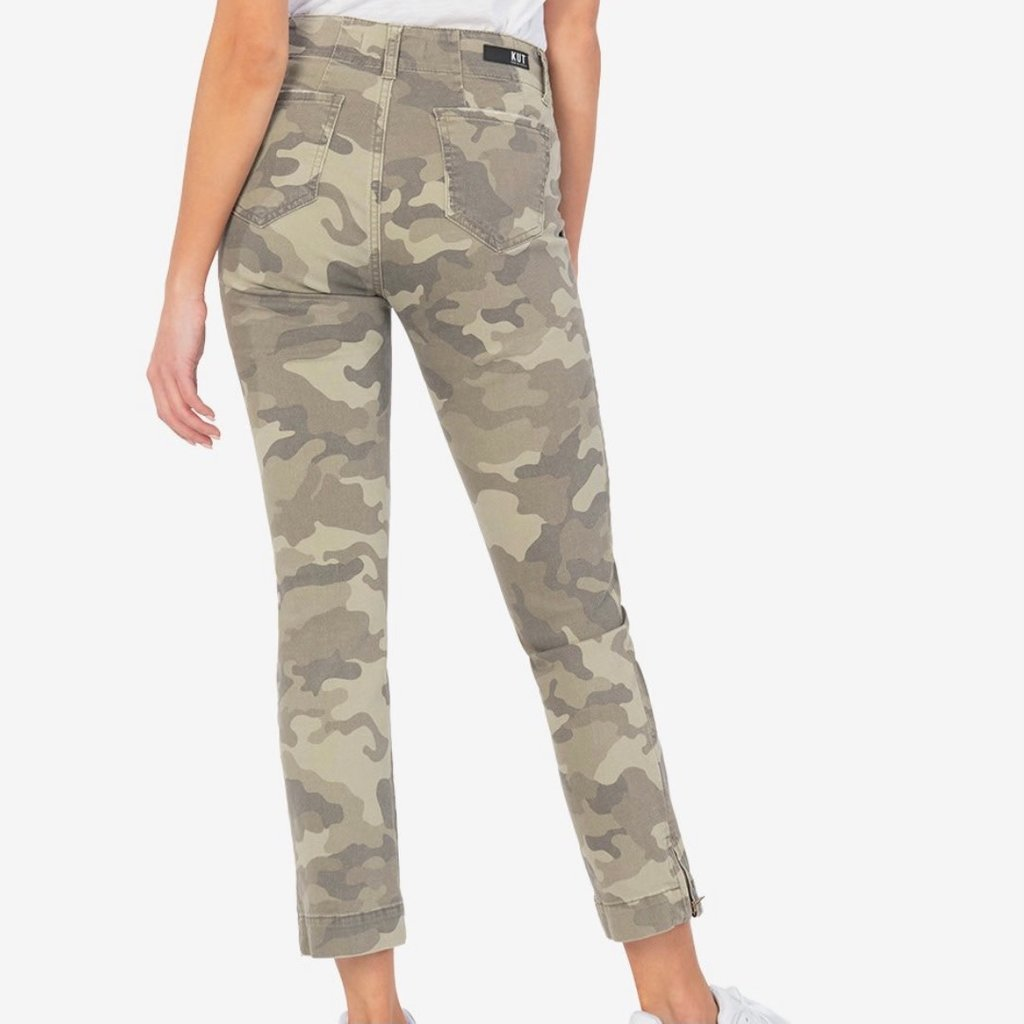Kut from the Kloth Camo  Ankle Straight Jean