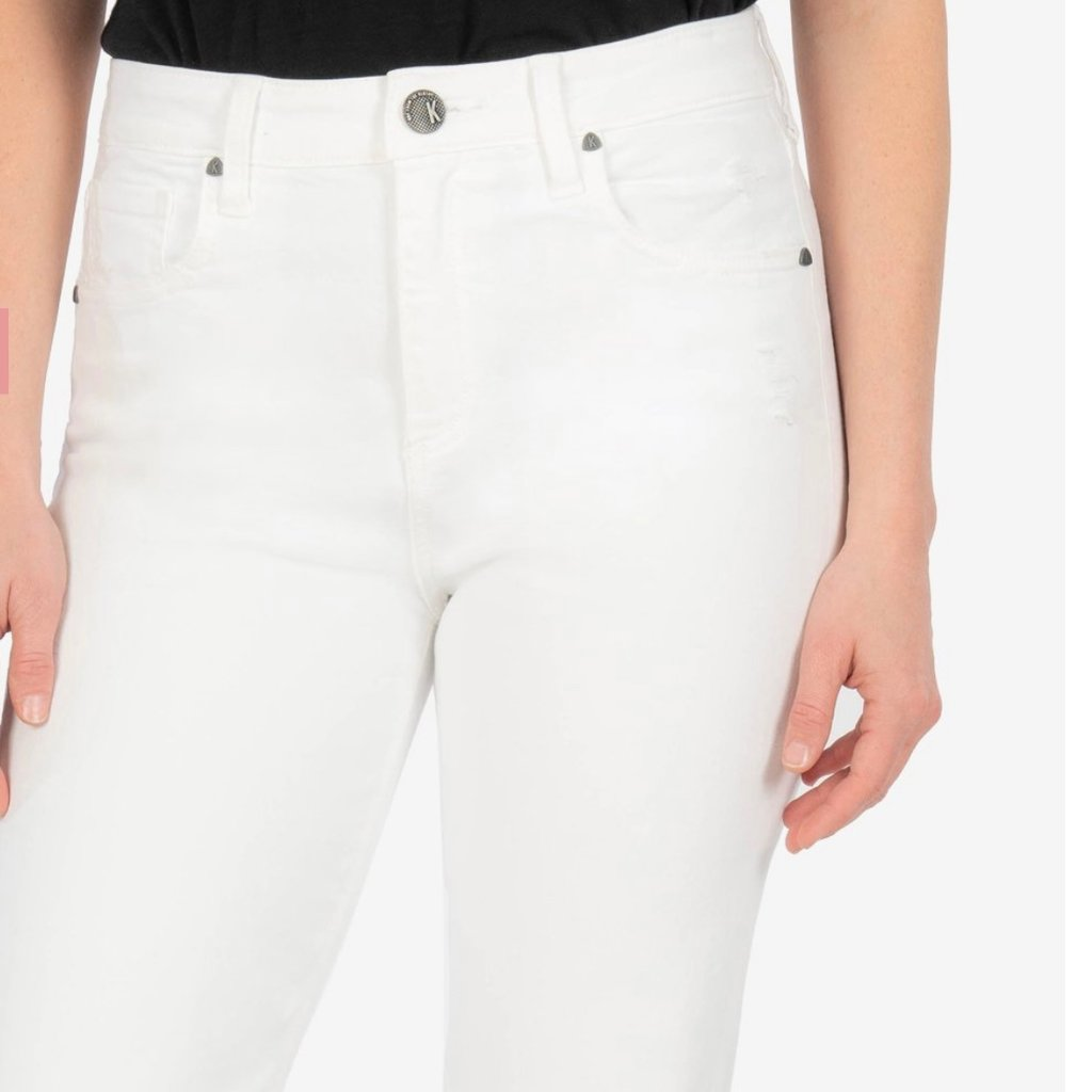 Kut from the Kloth White Crop Jean