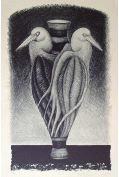Untitled (2 Bird Vessel)