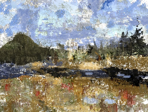 Passing By (After Cezanne)-1
