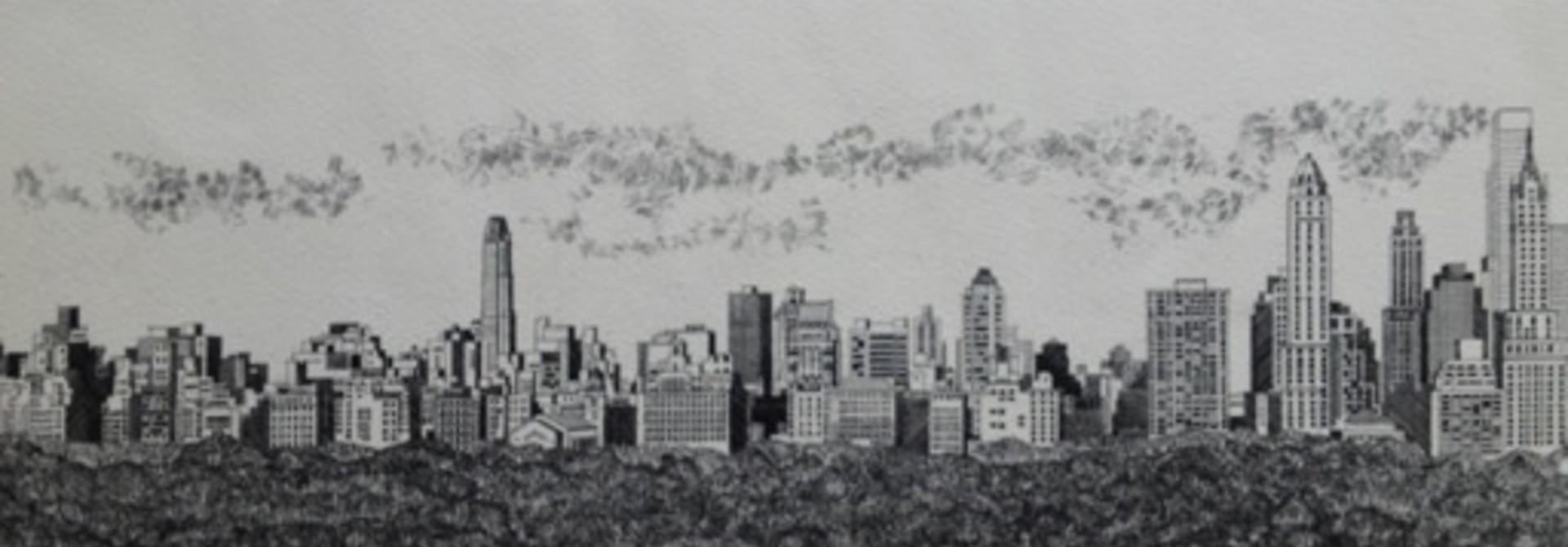 Skyline #1 Spring Parade (Cityscape)
